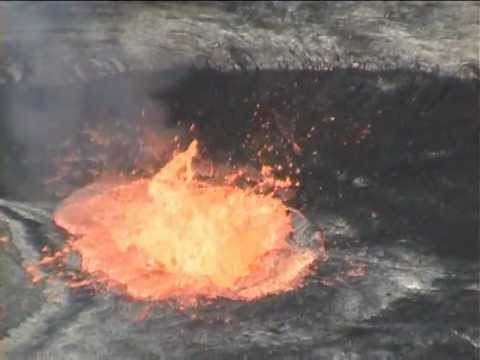 lava - NEW: Spectacular nighttime explosive eruption: http://www.youtube.com/watch?v=8V3wvR4N5Zs ** Incineration of waste in Erta Ale Volcanoes lava lake. It is f...