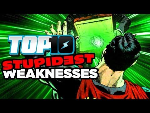 Top 10 STUPIDEST Weaknesses (видео)