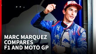 Video Marc Marquez compares F1 and MotoGP MP3, 3GP, MP4, WEBM, AVI, FLV Agustus 2018