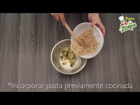Ensalada de coditos con brócoli, uvas y nuez | PASTAS ZONIA
