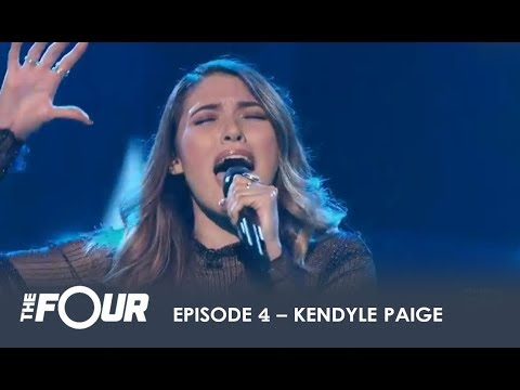 Kendyle Paige: NY Girl SHOCKS The Judges and Comes For ZHAVIA! | S1E4 | The Four (видео)