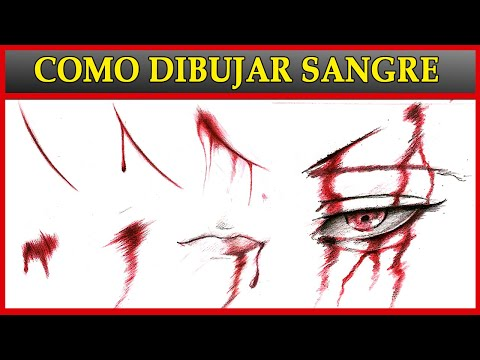 TUTORIAL: Como Dibujar SANGRE / How To Draw Blood | Esteban Arts