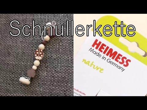 Test: Heimess Holz-Schnullerkette Marienkäfer - Nature | babyartikel.de