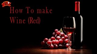 Mr. Food: How To Make Wine At Home (Red)