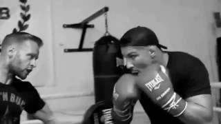 Video: Brendan Schaub Training Session w/ Glenn Holmes At Box 'N Burn