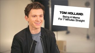 Video Tom Holland Being a Meme For 7 Minutes Straight MP3, 3GP, MP4, WEBM, AVI, FLV Juli 2018