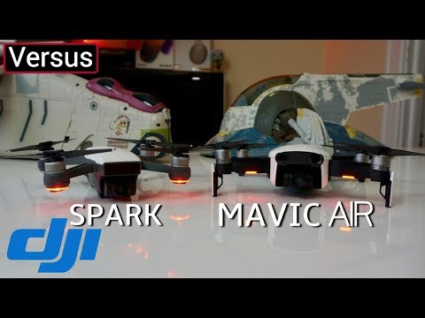 DJI Mavic Air Vs DJI Spark - There's A Drone For Everyone