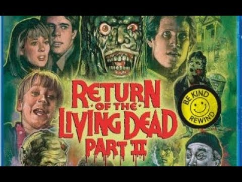 Return Of The Living Dead Part 2 Blu-ray Review (Scream Factory)