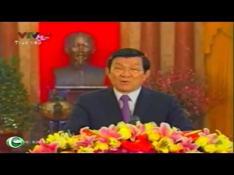 Chủ tịch nước Trương Tấn Sang chúc tết đồng bào cả nước - Tết Quý Tỵ 2013