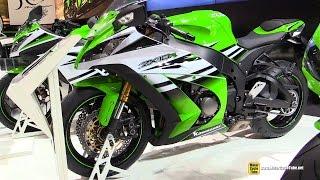 9. 2015 Kawasaki Ninja ZX-10R 30th Anniversary Edition - Walkaround - 2014 EICMA Milan Motorcycle Show