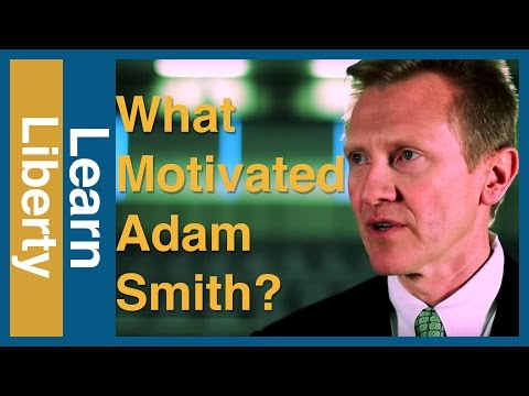 What Motivated Adam Smith?
