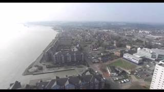 Grays Thurrock United Kingdom  City pictures : Grays (Essex UK) view from the Drone