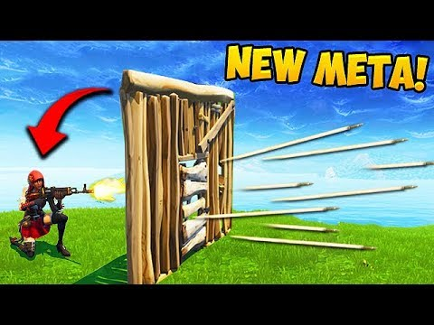 *EPIC TRICK* SHOOT THROUGH DOORS! - Fortnite Funny Fails And WTF Moments! #376