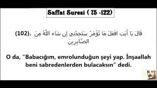 Saffat Suresi Dinle – Abdulbasit Abdussamed