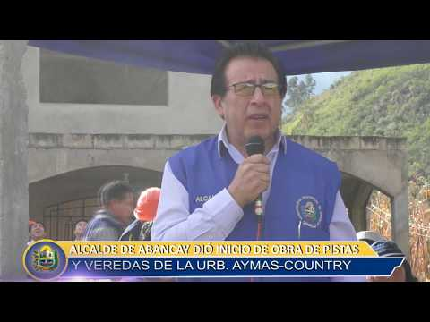 INICIO DE OBRAS AYMAS COUNTRY SEGUNDA ETAPA