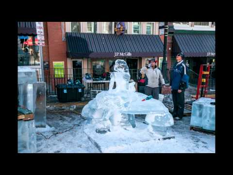 Cripple Creek Ice Sculpture Festival 2014