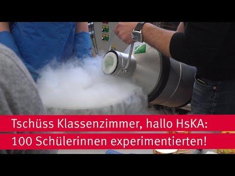 Experimentiertag für Schülerinnen an der HsKA