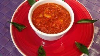 Tomato Pickle Or Thakkali Thokku