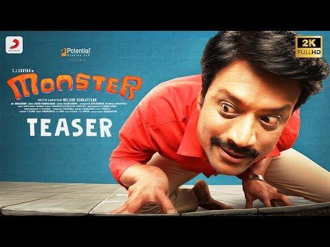 S.J.சூர்யாவின் மாறுபட்ட நடிப்பில் உருவாகி வரும்  Monster  திரைப்பட Trailer  KEE  Mini Trailer || Kee Tamil Movie | Jiiva, Nikki, Anaika, Rj Balaji, Krishna Prasad