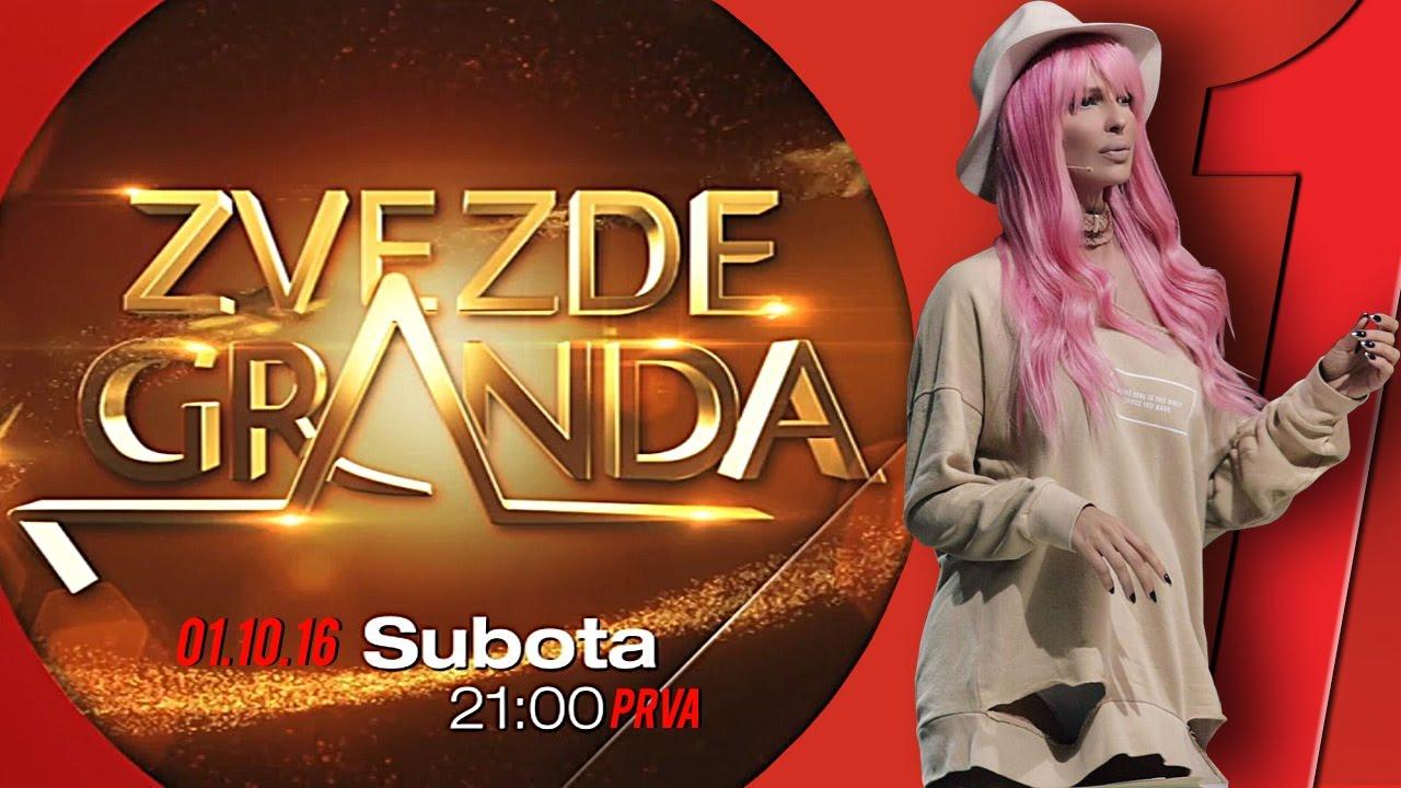 ZVEZDE GRANDA 2016 – 2017 – druga emisija – 01. 10. – najava – nova sezona