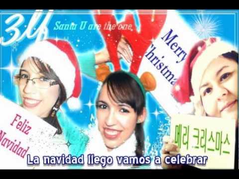 Santa U Are The One - FELICES FIESTAS!!!! FELIZ NAVIDAD!!! Claro que no podíamos dejar pasar esta hermosa fecha sin hacer un cover y regalo para todas las lindas personas que nos ...