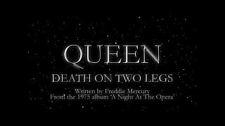 Video Queen - Death on Two Legs (Official Lyric Video) MP3, 3GP, MP4, WEBM, AVI, FLV April 2019