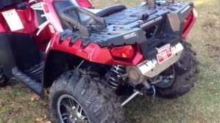 1. 2013 Polaris 850 H.O LE Touring first look