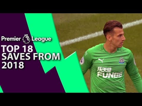 Top 18 Premier League saves of 2018 | NBC Sports
