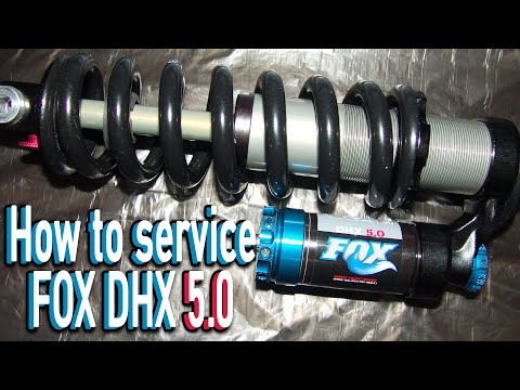 How to change oil from a FOX DHX 5