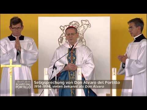 BEATIFICATION OF ALVARO DEL PORTILLO - 2014-9-27