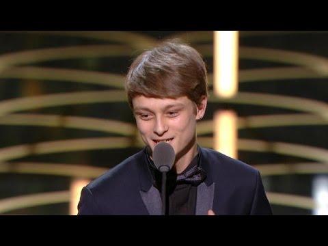 Espoir Masculin - Rod Paradot- 41ème cérémonie des César 2016 - CANAL+