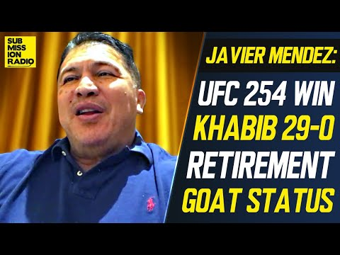 Khabib's Coach Reacts to Retirement, UFC 254 Win, Reveals Khabib Was Hospitalized, GOAT Status