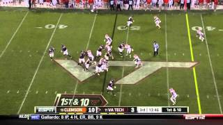 Brandon Thompson vs Virginia Tech 2011