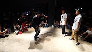 Funky Bee (Ringo Winbee & Yu-to) vs Young G & Shark Bomb – WDC 2019 POPPIN' BEST16