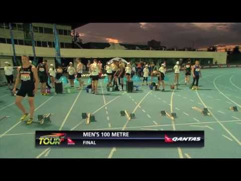 Qantas Melbourne World Challenge Men's 100m