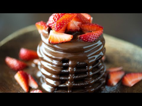 АSМR 米粉と豆腐のチョコレートパンケーキ|グルテンフリー - DomaVideo.Ru
