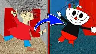 PLAYTIME is CUPHEAD In This Mod! 😂 | Baldi's Basics Mod Gameplay
