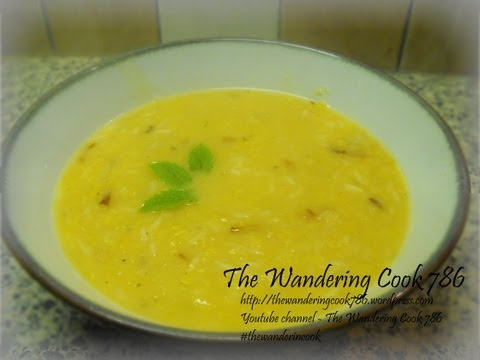 xxx 786 - Here is a quick and easy version of Turkish Lentil Soup (Mercimek çorbası). For full method visit: http://thewanderingcook786.wordpress.com Ingredients: 1 cu...