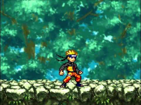 Random Sprite battles: Goku vs Naruto