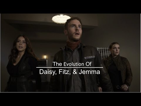 Agents of S.H.I.E.L.D. | The Evolution of Daisy, Fitz, & Jemma