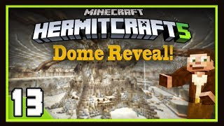 HermitCraft Season 5:  Epic Timelapse Dome Reveal!    (Minecraft 1.12)