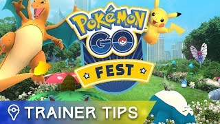 Here's what you need to know about today's Pokémon GO Fest events by Trainer Tips