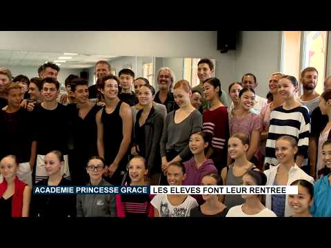 The start of the new autumn term for the  Princess Grace Dance Academy