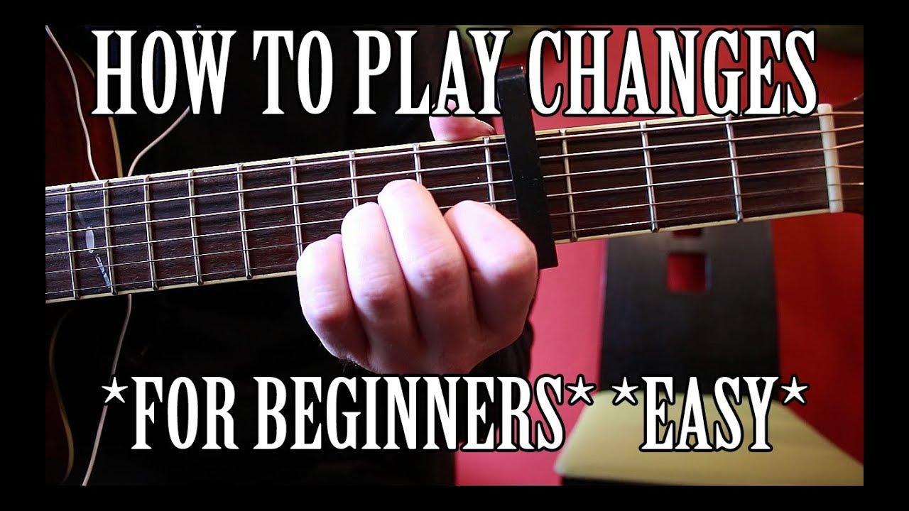 """Changes"" – XXXTentacion | Guitar Tutorial | Capo/No Capo *FOR BEGINNERS*"