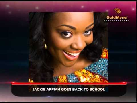 ACTRESS JACKIE APPIAH GOES BACK TO SCHOOL