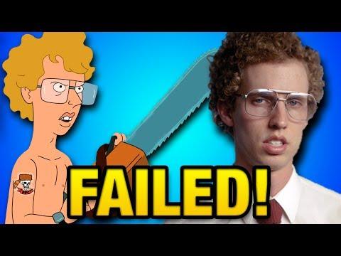 Why the Napoleon Dynamite Cartoon FAILED