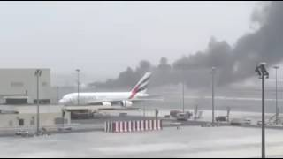 Emirates airline Emergency landing 3rd Aug 2016