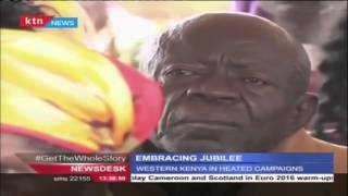 Heated campaigns in Western Kenya