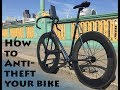How To Anti Theft Your Bike