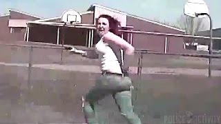 Nonton Dashcam Shows Wanted Woman Get Run Over After Firing At Police Film Subtitle Indonesia Streaming Movie Download